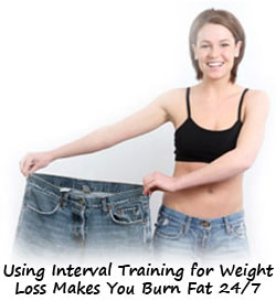Examples of Using Interval Training for Weight Loss