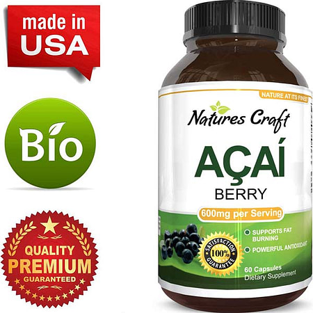 Weight Loss Herbal Supplements: Acai Berry Benefits