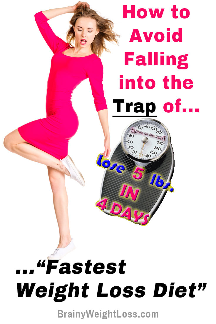 Fastest Weight Loss Diet: Who Else Got Conned by Fad Diets to Lose Weight Super Fast?