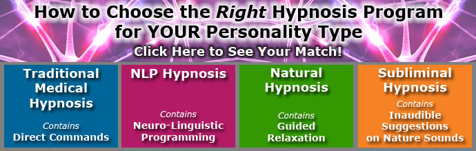 Different Hypnosis Instructions for the Hypnosis Types