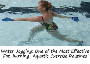 Water Jogging is One of the Best Aquatic Exercise Routines