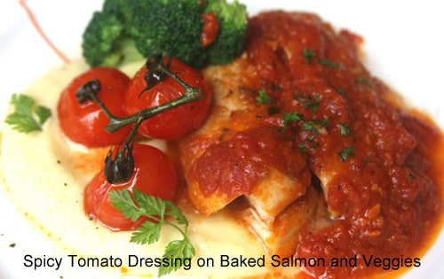 Recipes for Fresh Tomatoes: Fat-burning Tomato Dressing
