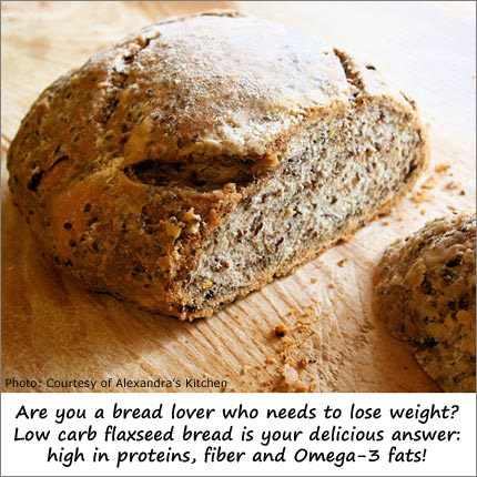 Take Advantage of Flaxseed Health Benefits by Eating Flax Bread and Drop Pounds!