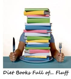 Diet Free Info Books Full of Fluff