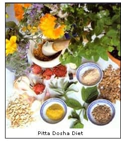 Spices for Pitta Dosha Diet