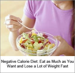 Free Negative Calorie Diet TipsFree Negative Calorie Diet Tips
