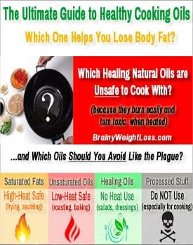 Healthy Cooking Oils (Thumbnail): Click or Tap for Actual Size