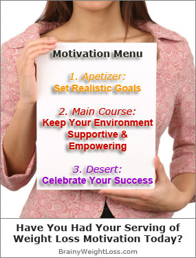 Have You Had Your Serving of Motivation to Lose Weight Today?