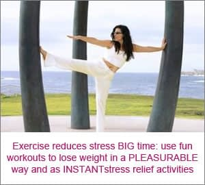 Exercise Reduces Stress and Burns Fat