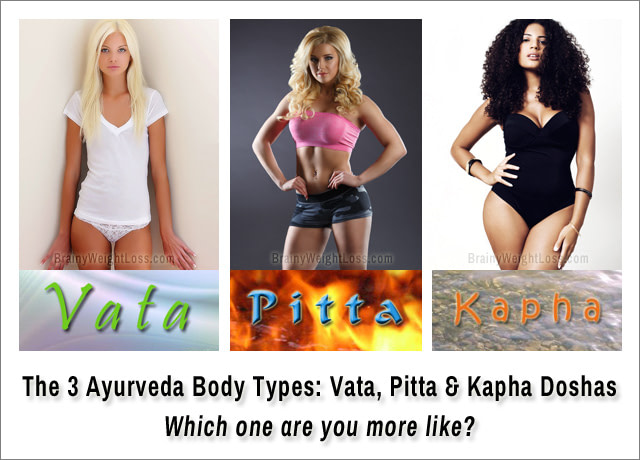 The 3 Ayurveda Body Types: Vata, Pitta & Kapha