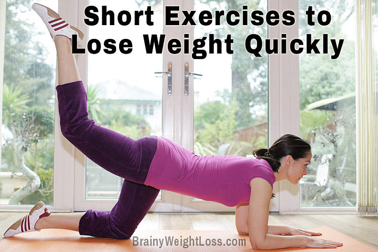 Short Exercises to Lose Weight Quickly