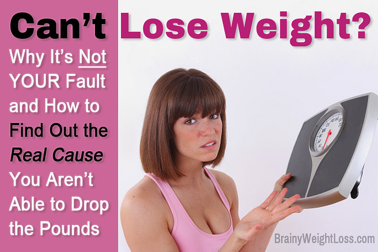 Not Able to Lose Weight? Find Out the Real Cause!
