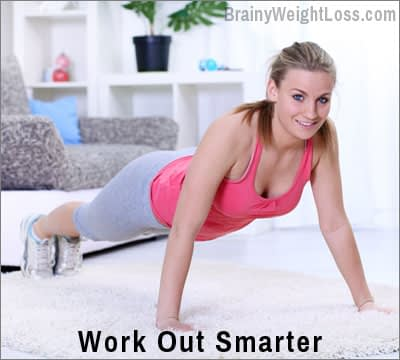 Failproof Tips for Losing Weight Fast: Work Out Smarter