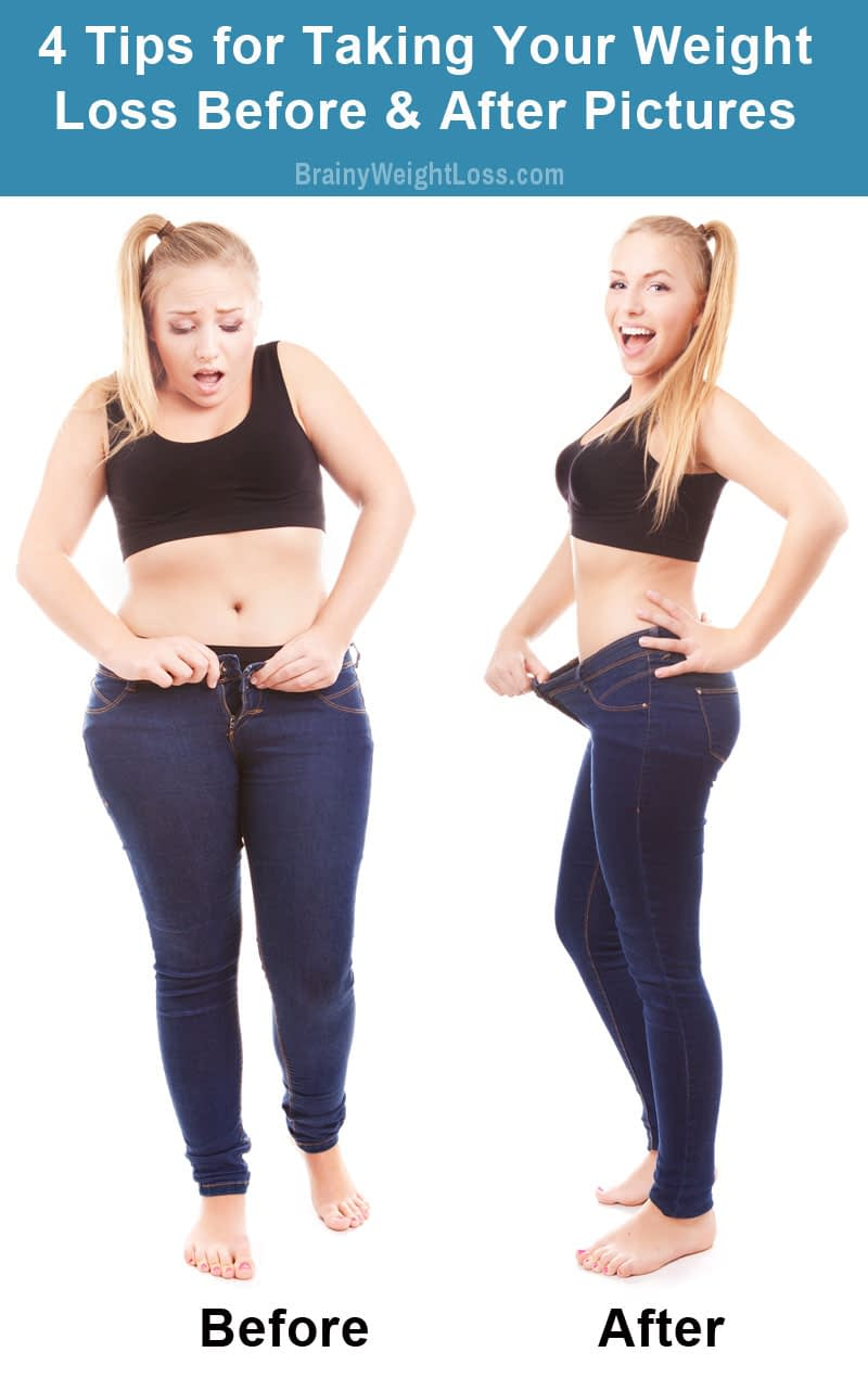 Weight Loss Before After Pictures: 4 Tips to Easily Create Your Own, Plus a Secret One